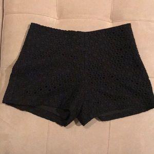 Banana Republic black shorts